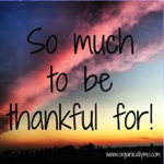 Read more about the article Thankful That I'm Thankful
